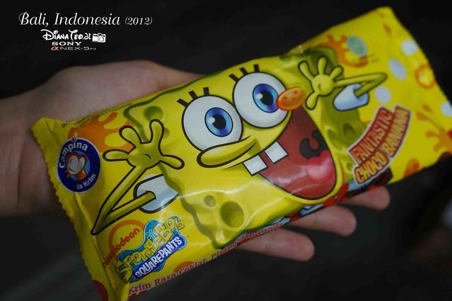 Bali Day 2 - Spongebob Ice-Cream