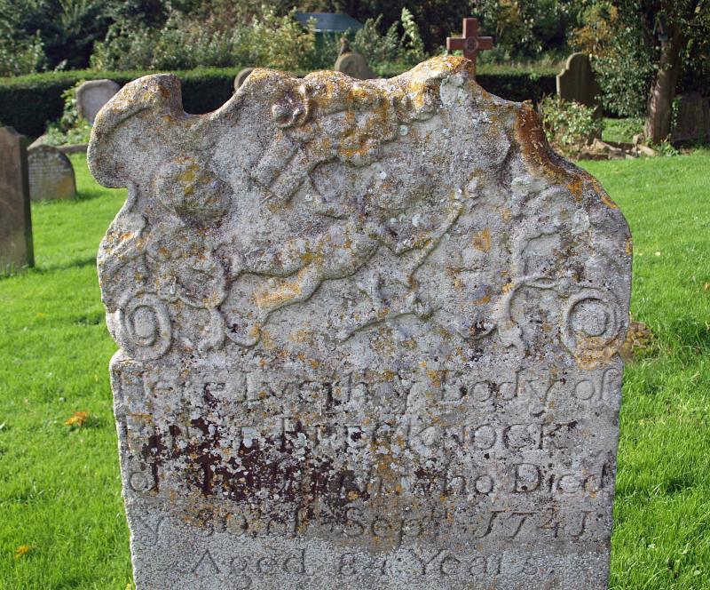 C18th headstone