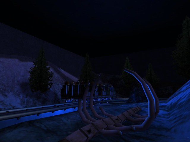 Miramar Studios Park - Revenge of the Yeti - The Ride