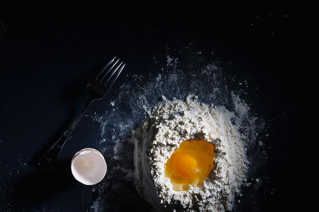 Making Farfalle on Food52