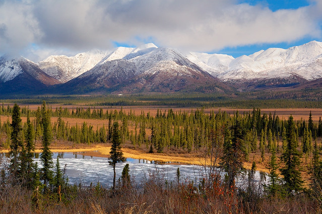 Wrangell-St. Elias National Park by CC user wrst on Flickr