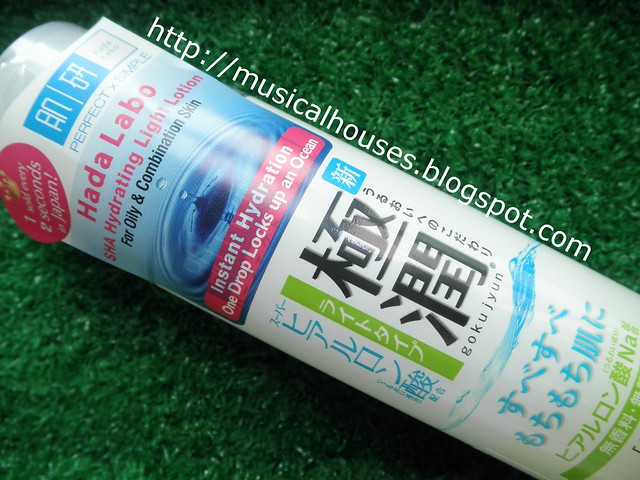 Hada Labo Hydrating Light Lotion bottle