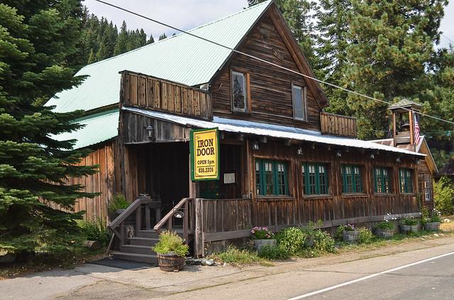 The Iron Door Restaurant in Johnsville, California