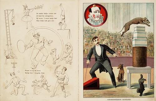010- De circus-1890-© Royal Library - Biblioteca Nacional de los Países Bajos