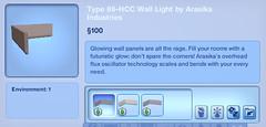 Type 88-HCC Wall Light by Arasika Industries