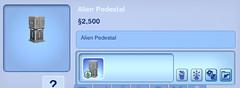 Alien Pedestal