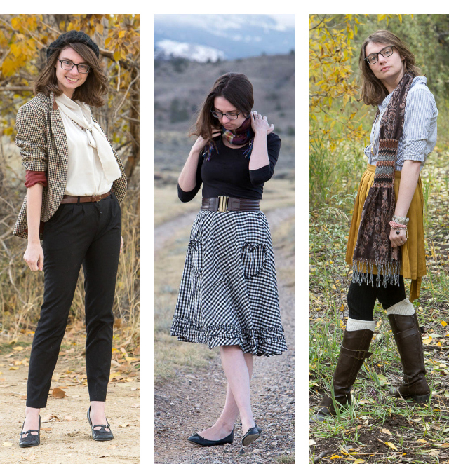 October, Autumn, Fall, outfits, clothes, modcloth, popbasic, gamine