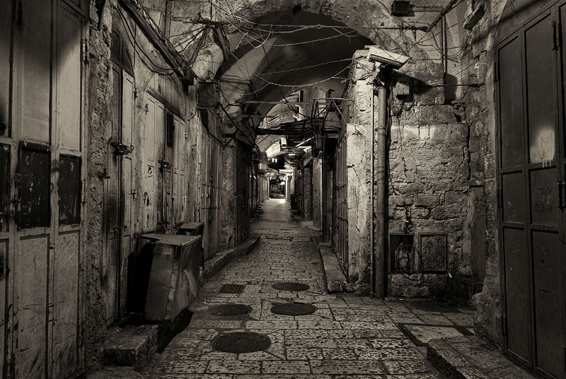10. Jerusalén en blanco y negro. Autor, Jean Spector