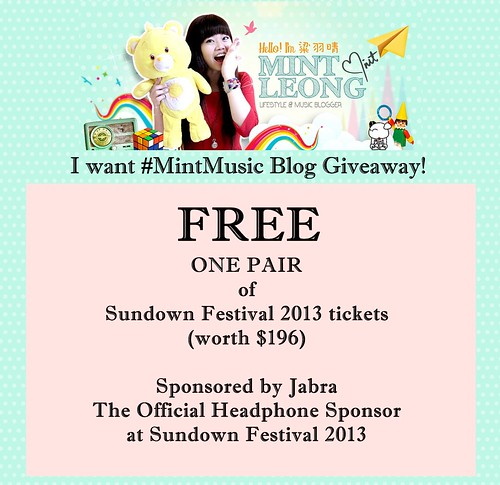 Mint Music giveaway banner
