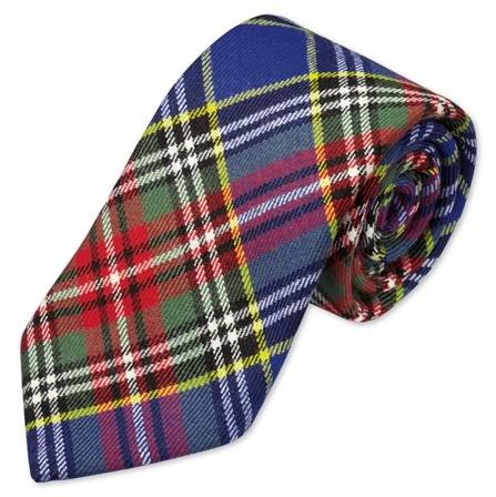 Charles Tyrwhitt Blue tartan handmade slim tie