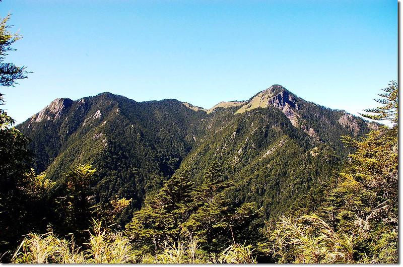 頭鷹山(From 弓水山)