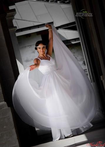 AllFocus Studio - Красиво, качественно, стильно! Свадьбы в Европе. > Элегантное свадебное платье для невесты