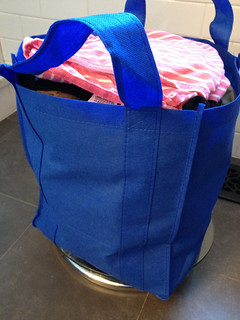 Raising charitable children, one bag at a time