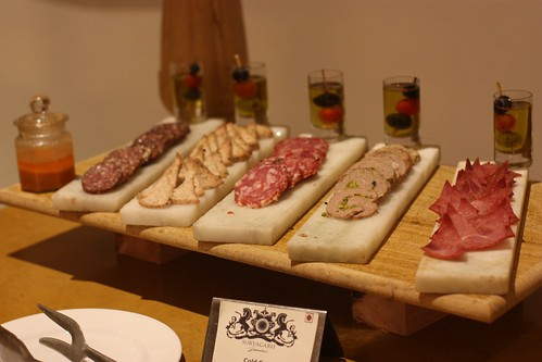 selection of meats