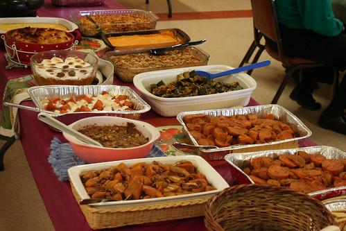 Thanksgiving Church Potluck