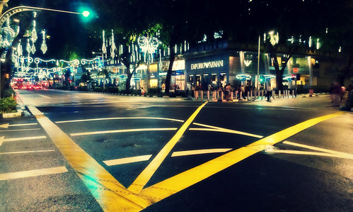 Orchard Road lights up for Christmas