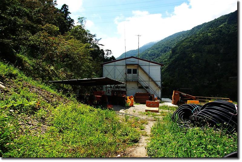 萬榮林道20.7K施工所