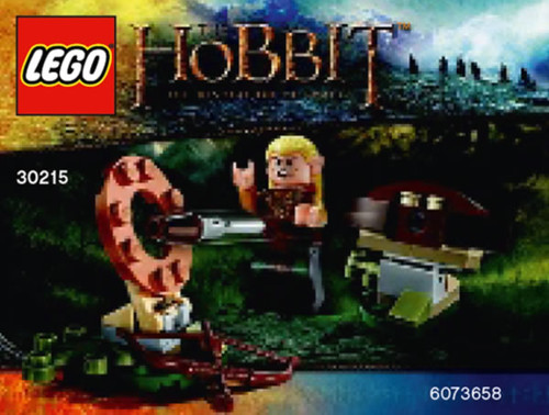 LEGO The Hobbit Legolas Greenleaf Polybag (30215)