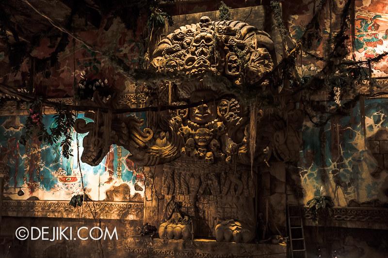 Tokyo Disneysea Indiana Jones Adventure Temple Of The