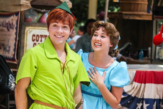Peter Pan and Wendy Darling