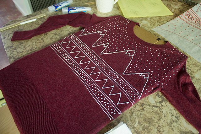 How to make a holiday sweater two different ways