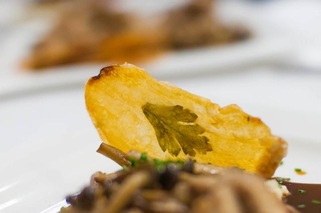 Aardappel met bladpeterselie