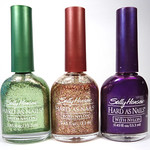 Sally Hansen Free Style, Gilded Pink, Jacquard Frost
