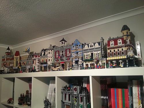 How Do You Display Your Modular Building Collection Lego Town Eurobricks Forums