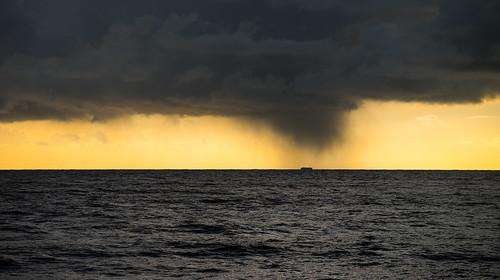 sunset sea cloud storm water rain weather clouds dark coast boat seaside waves ship glow sad flat zoom horizon wave coastal dorset distant westbay choppy westdorset