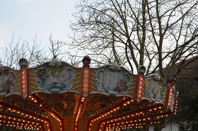 Weihnachtsmarkt Freinsheim Christmas carousel