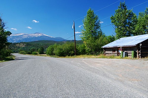 Highway 20, in Kleena Kleene, Chilcotin, British Columbia