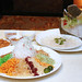 "Turbot Fish ""Yu Sheng Loh Hei"" Platter ($68/$128, available for takeaway)"