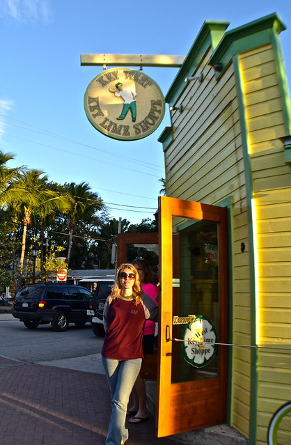 Key West, Florida- Bike Tour - key lime shop