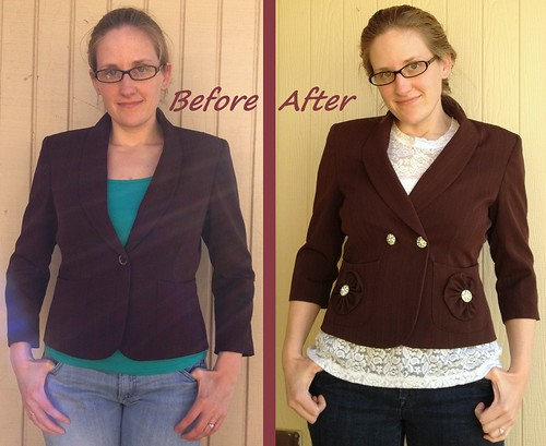 Blinged Up Blazer - Before & After