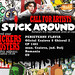 STICK AROUND!!!Romania's first international street art expo by 2efs STICK AROUND!!! expo