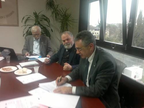 17 gennaio 2014 - Il rinnovo del contratto Nazionale Anpas