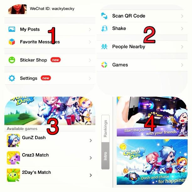 WeChat 5 1 launches WeChat Games - 'Gunz Dash', 'Craz3 Match