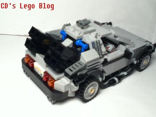 Leaks レゴ Cuusoo デロリアン・タイムマシン 21103 画像レビュー Cd S Lego Blog