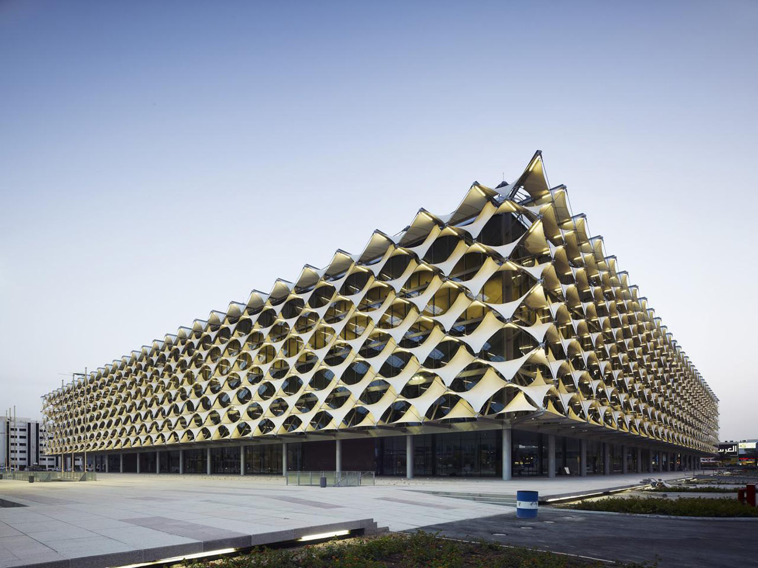 King Fahad National Library design by Gerber Architekten