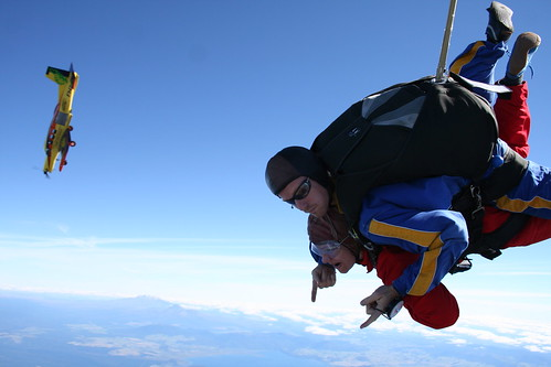 New Zealand, Taupo - Skydiving