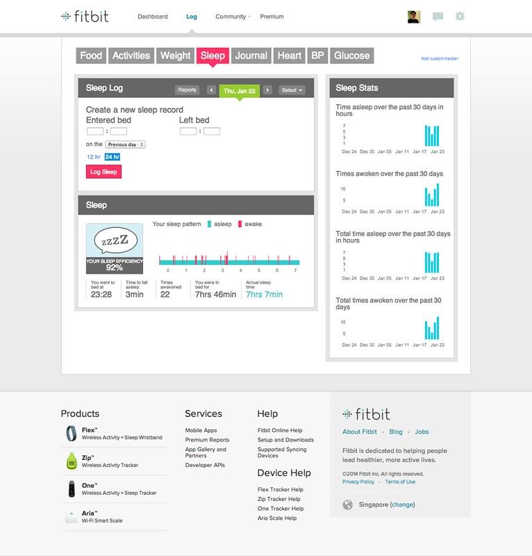 Fitbit.com - Sleep