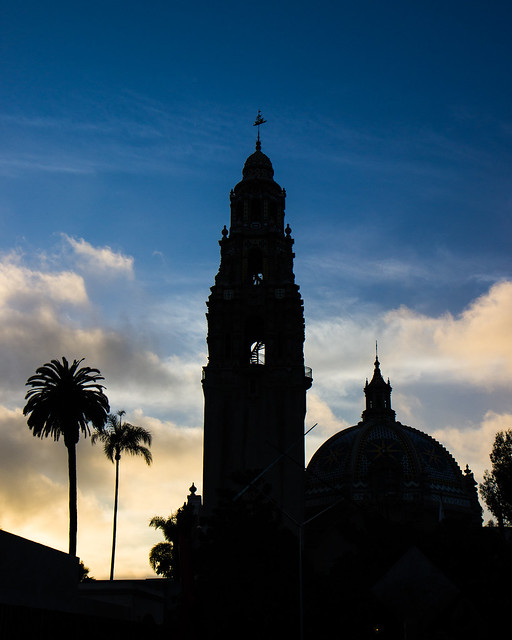 Balboa Park California Tower