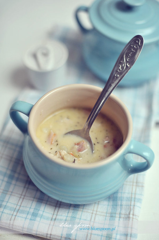 przepis na chowder - blue spoon