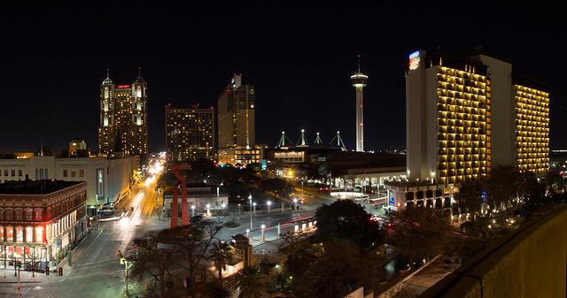 San Antonio Skyline at Night