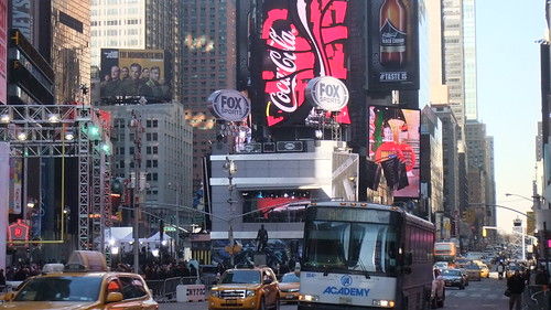 #SnapShot | #FOX #SuperBowl #Set #SB48 #TimesSquare