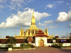 Pha That Luang Vientiane, Lao PDR