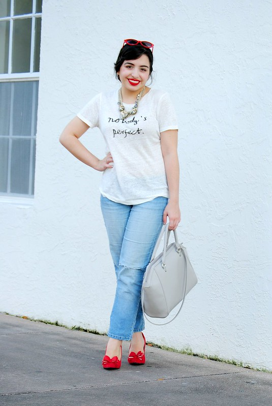 Earnestyle: Nobody's Perfect J. Crew tee