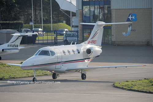 M-PREI Raytheon 390 Premier 1 by Jersey Airport Photography
