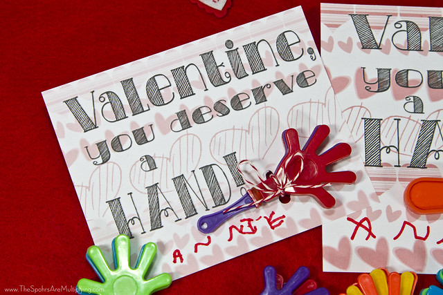 No-Candy Valentine: You Deserve A Hand (Clapper)
