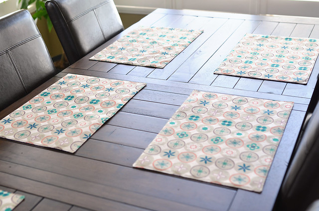 Ruby Star Spring placemats